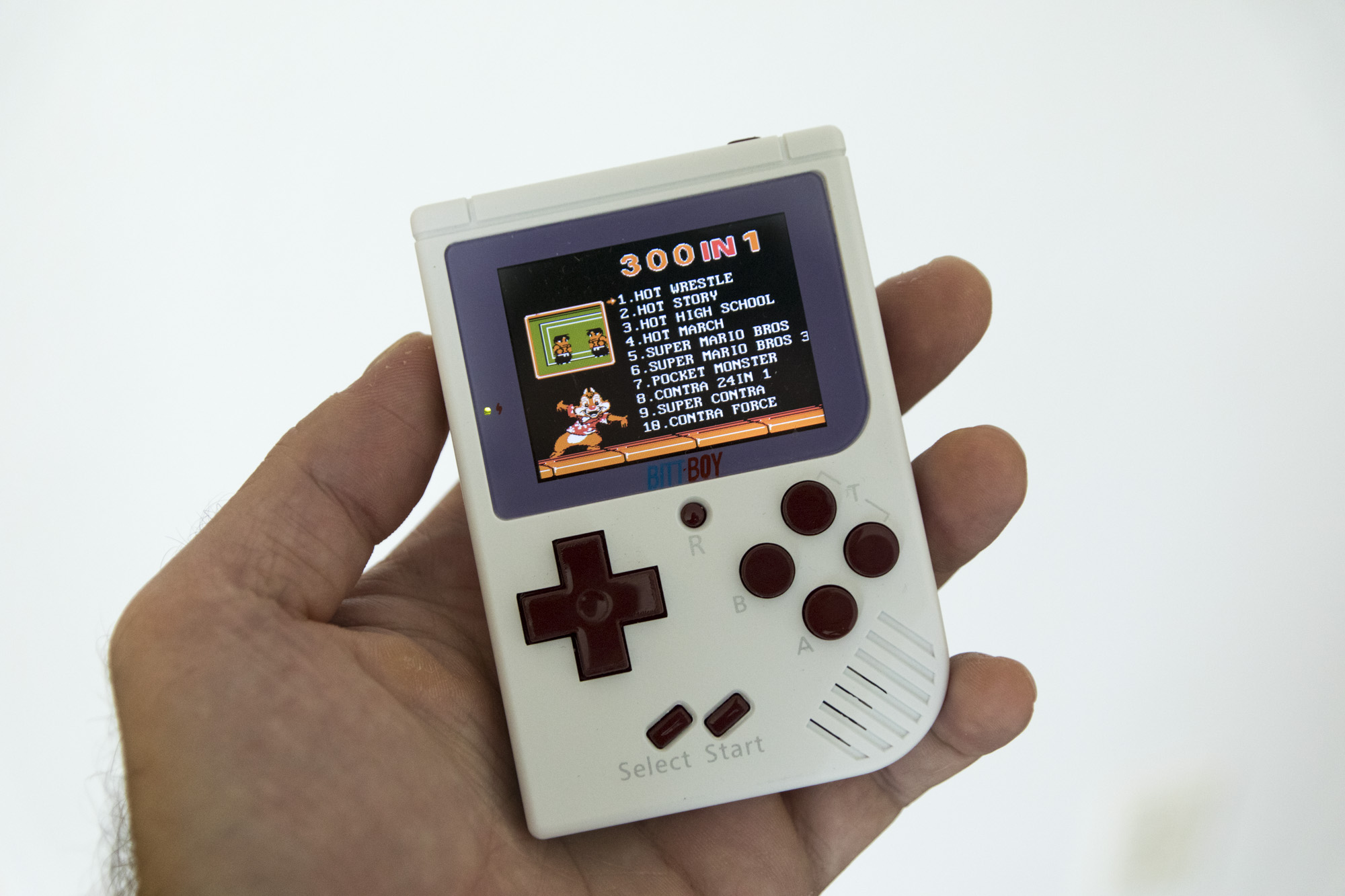 Bittboy is a retro pocket console that does a lot for very little techcrunch - Retro game emulator console ...