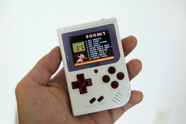 BittBoy is a retro pocket console that does a lot for very