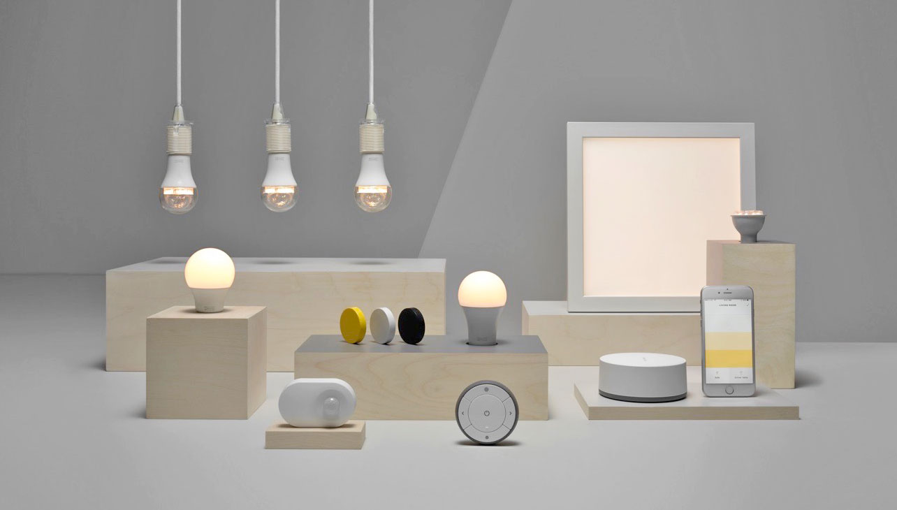 ikea smart lightbulbs get homekit alexa and google home. Black Bedroom Furniture Sets. Home Design Ideas