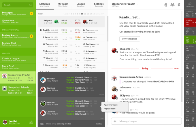 sleeperbot is the best place to host your fantasy football league