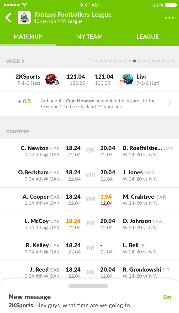 Sleeper is the best place to host your fantasy football league this