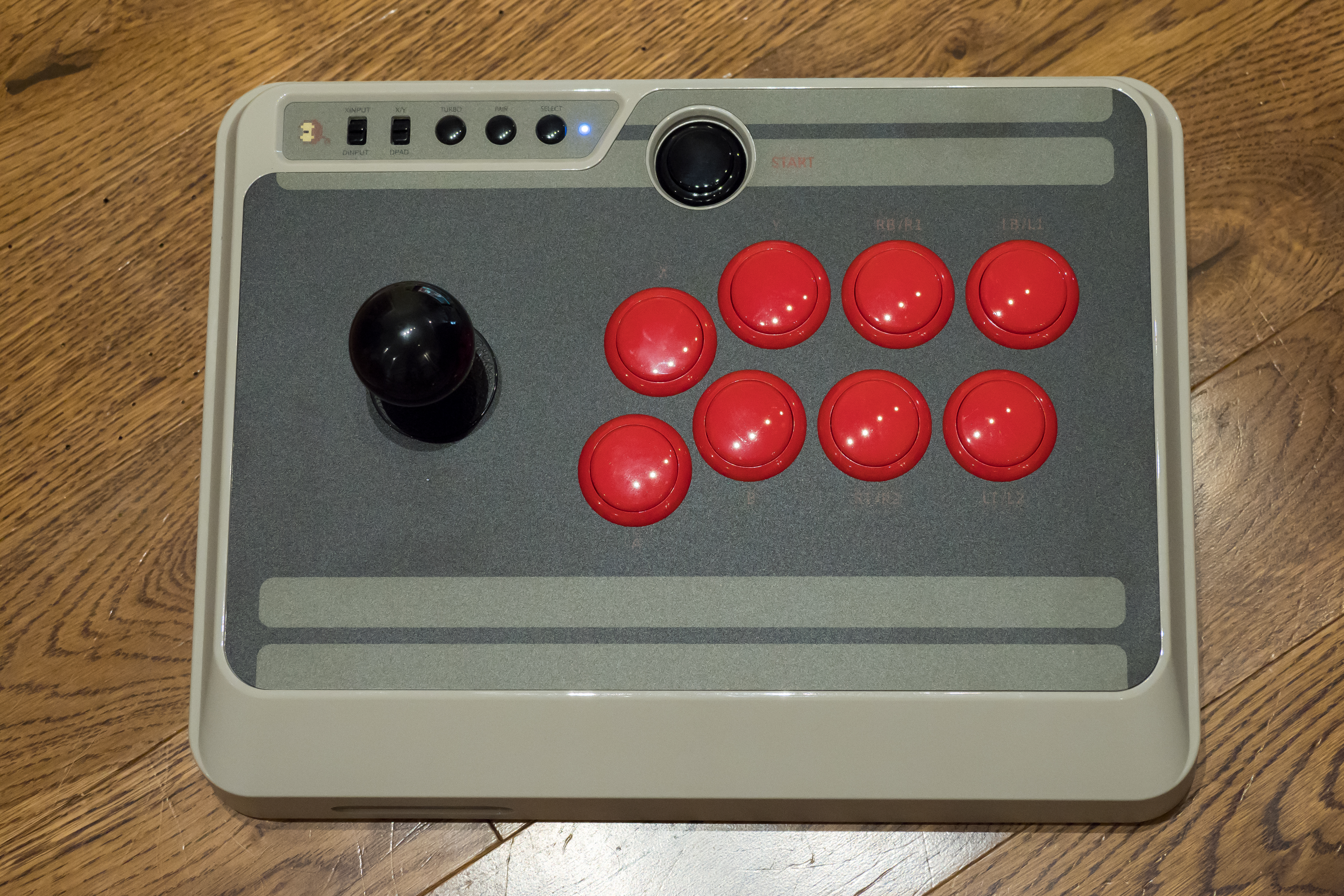 8bitdo's NES30 Arcade Stick is a big, beautiful fighter