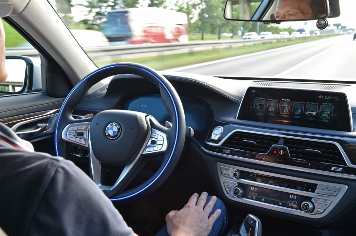 BMW Intel Self-Driving