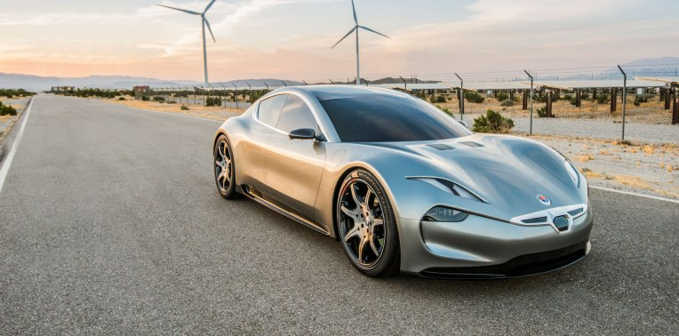 Fisker S Emotion Tesla Compeor Will Make Its Official Debut At Ces 2018 Techcrunch