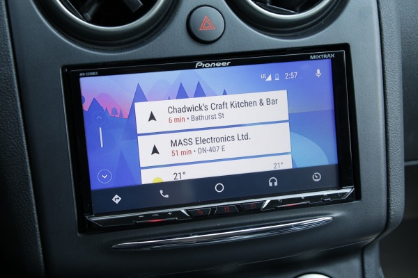 Pioneer's AVH-2330NEX gives you both Android Auto and