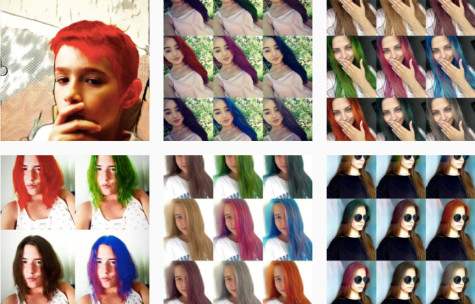 Teleport S Neural Networks Let You Try Before You Hair Dye