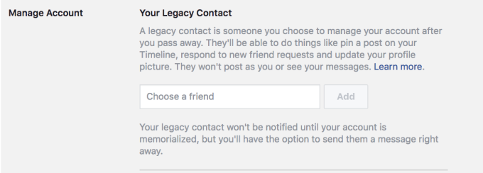 How Facebook prioritizes privacy when you die | TechCrunch