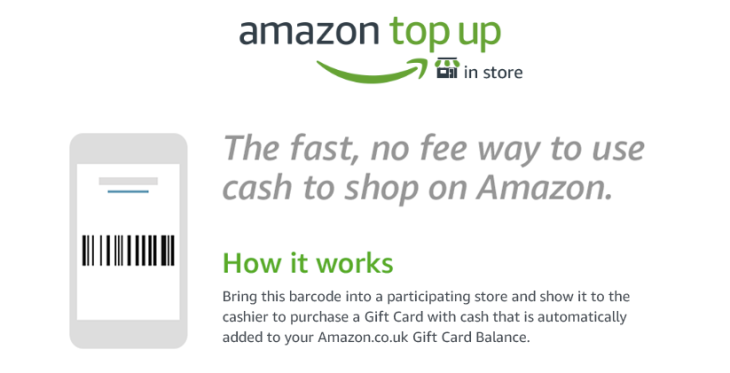 Amazon Brings Its Cash Deposit Service For The Underbanked To The Uk