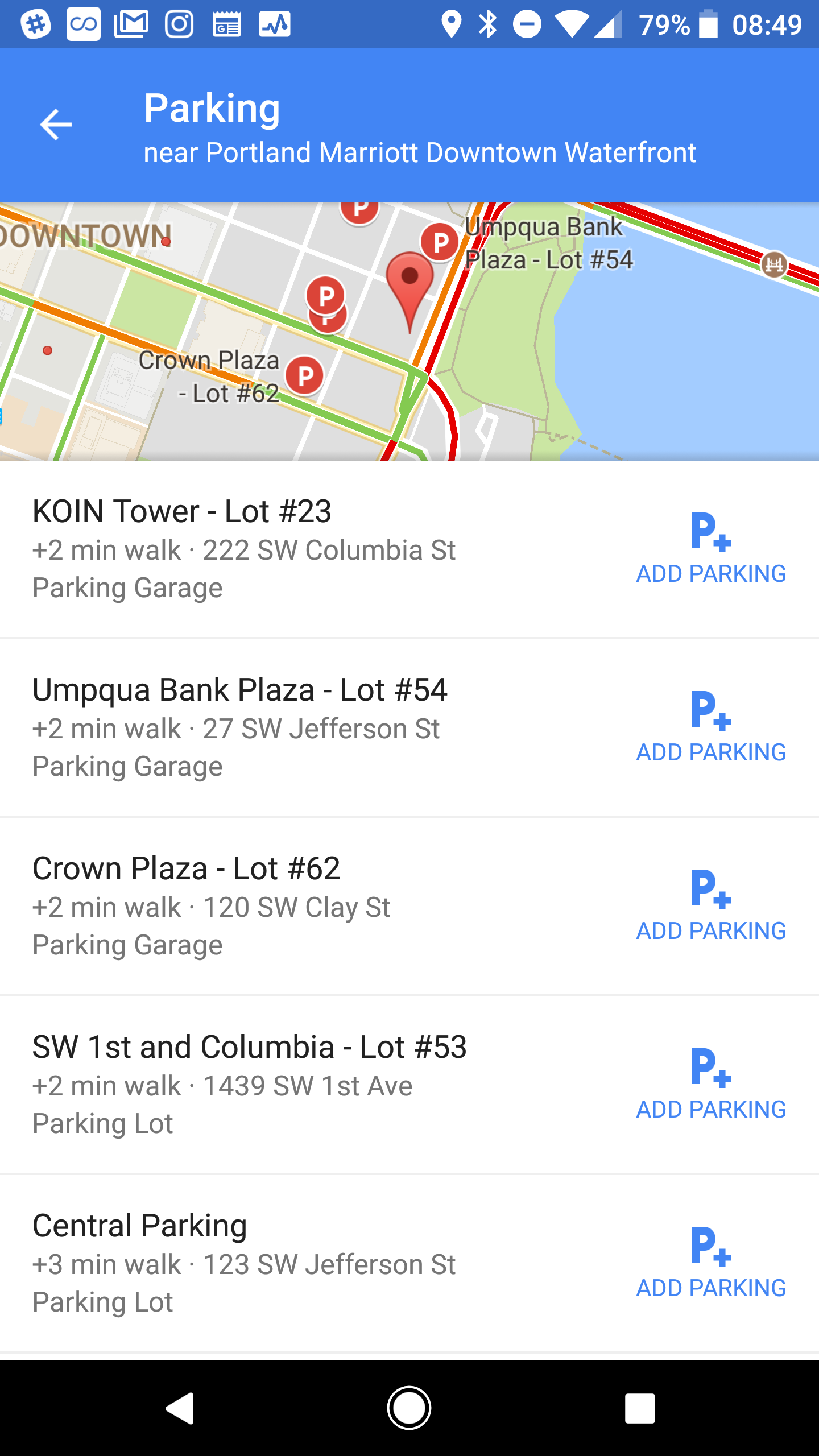 Google Maps now makes it easier to find parking | TechCrunch
