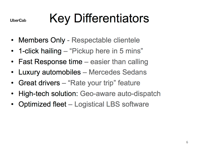 Here is Uber's first pitch deck | TechCrunch