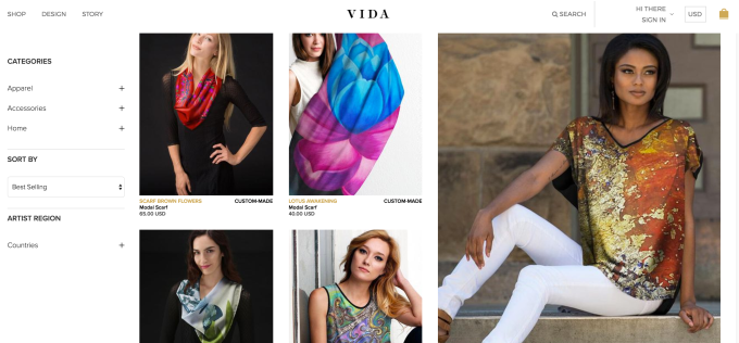 Multi-Wear Wrap - Africa by VIDA VIDA RhsD5v