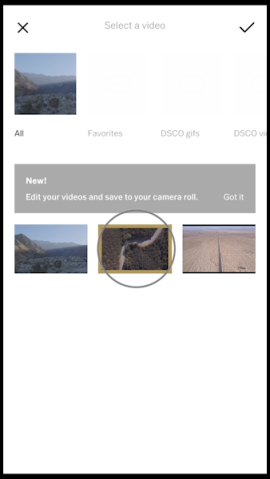 VSCO launches its first video editing tool | TechCrunch