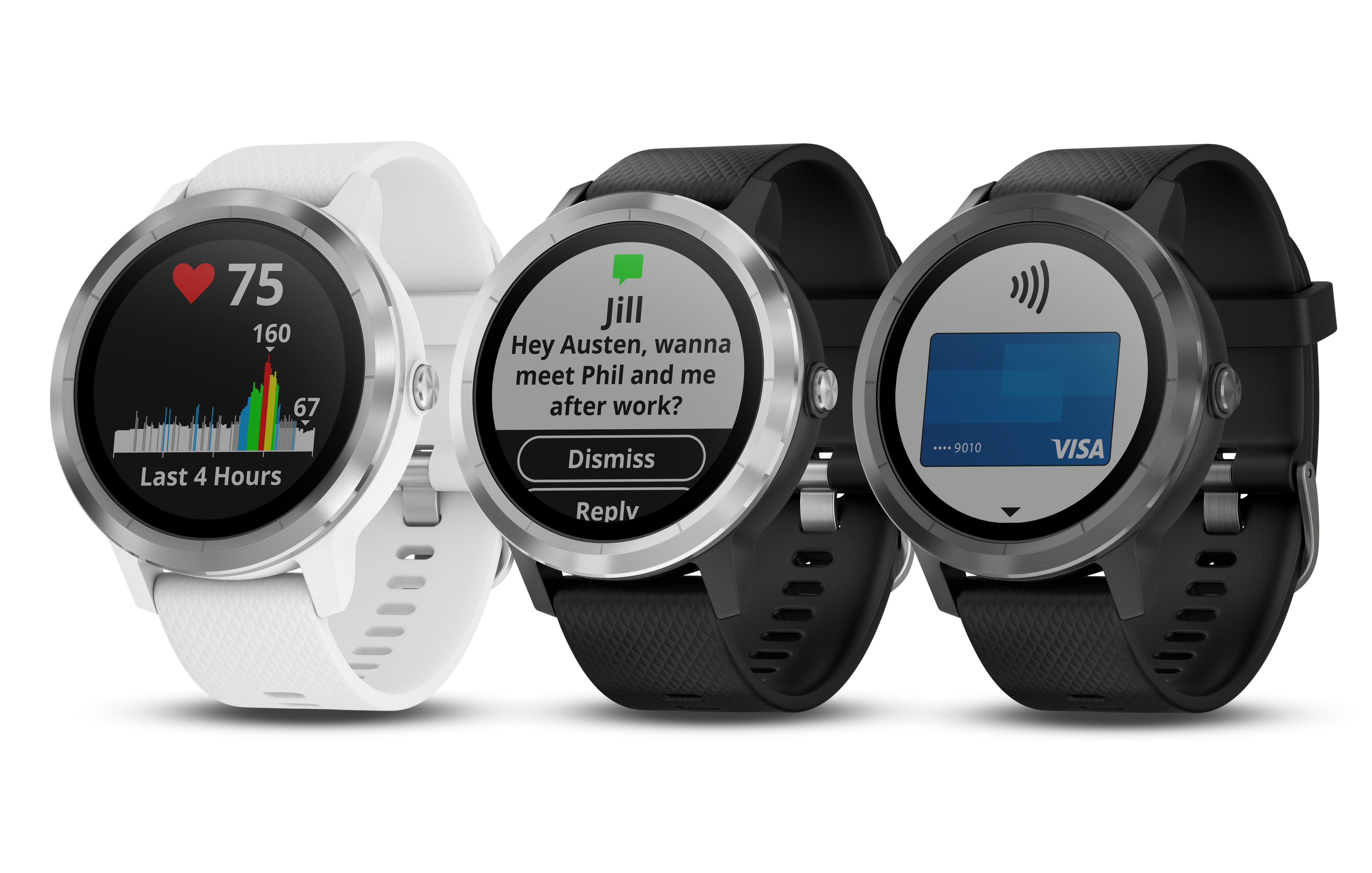 Garmin debuts three new wearables and a mobile payment