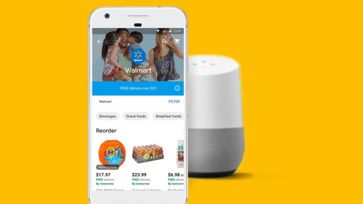 Walmart And Google Partner On Voicebased Shopping TechCrunch - How to create a invoice walmart online shopping store pickup
