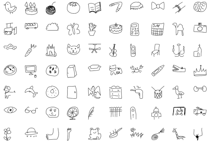 Google Releases Millions Of Bad Drawings For You And Your Ai To