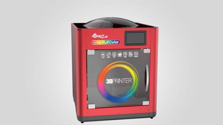 xyzprinting announces a 3 000 full color 3d printer techcrunch
