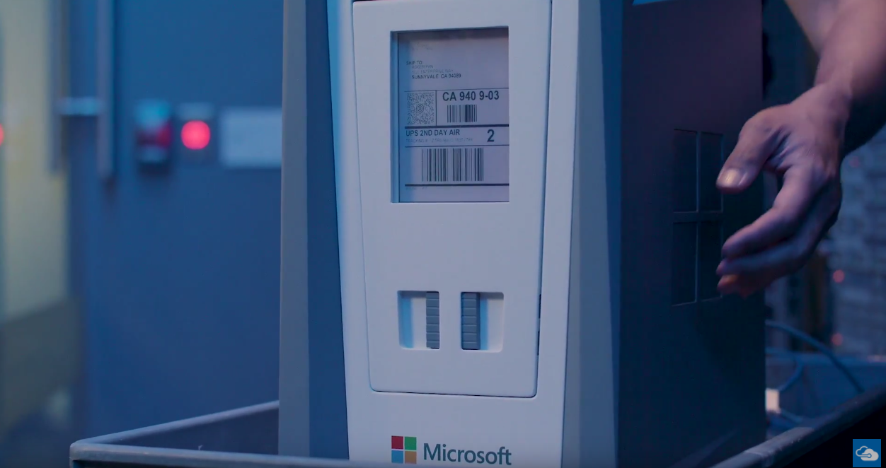 Microsoft's new Data Box lets you mail up to 100 TB to its ...