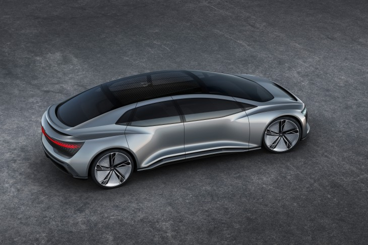 Audis Aicon Concept Ditches Pedals And Wheel In Favor Of Full - Audi concept