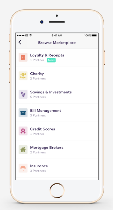 Starling Bank launches Marketplace, integrates with itemised