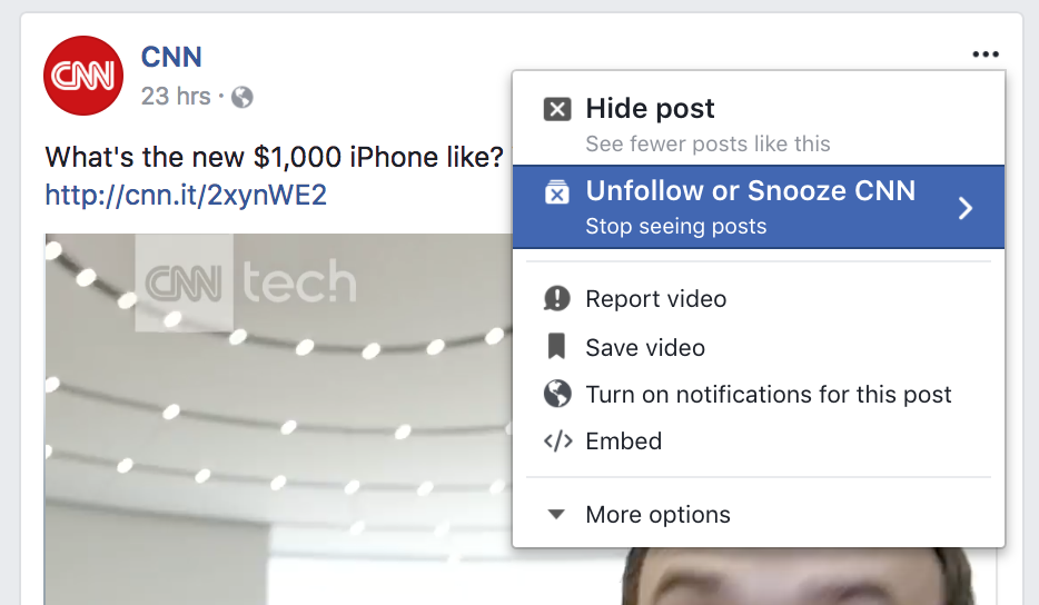 How to stop friends seeing what you comment on facebook