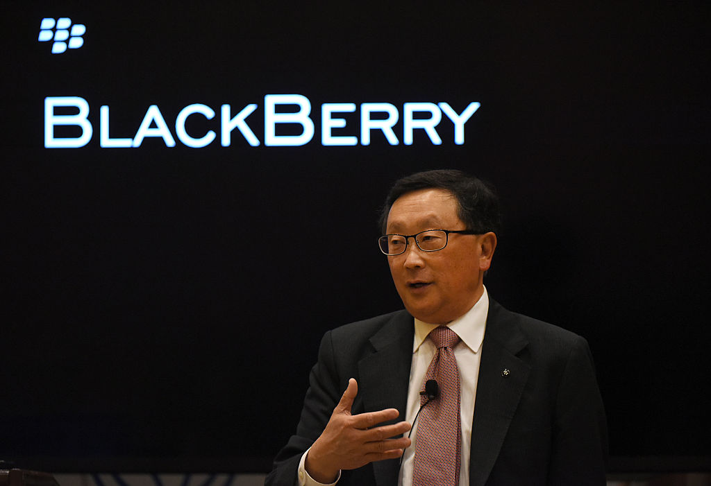 John Chen to stay on as BlackBerry CEO through 2023