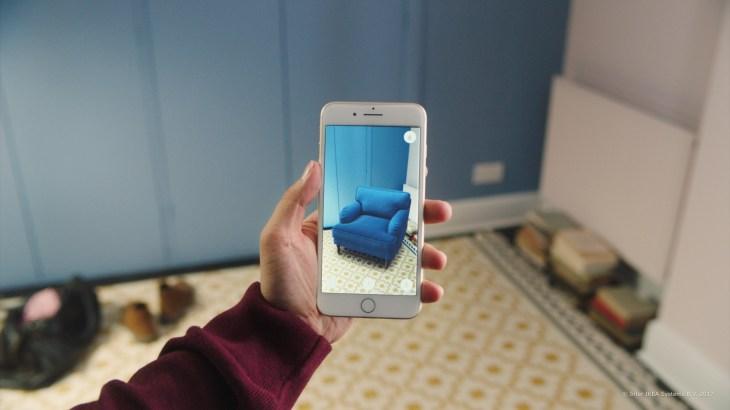 IKEA Place, the retailer's first ARKit app, creates lifelike