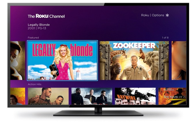 Roku launches its own channel featuring free, ad-supported