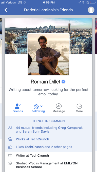 Facebook is testing features to help you make new friends techcrunch dont worry i charged my phone thecheapjerseys Choice Image