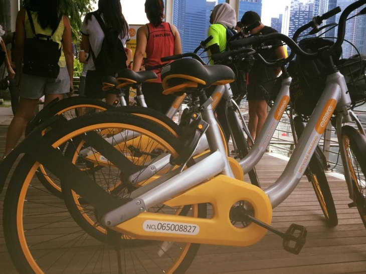 347f5f46c76 Singapore's upcoming licensing for dock-less bike-sharing services has  claimed its first scalp after oBike — a Singapore-based company run by  Chinese ...