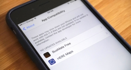 Before you update to iOS 11 here's how to check which apps