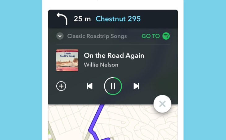 Waze and Spotify integration arrives on iOS | TechCrunch