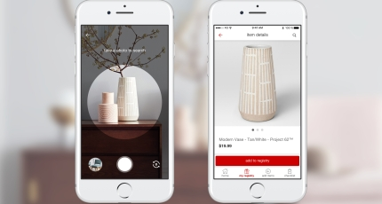 Target is adding Pinterest's visual search tool to its app