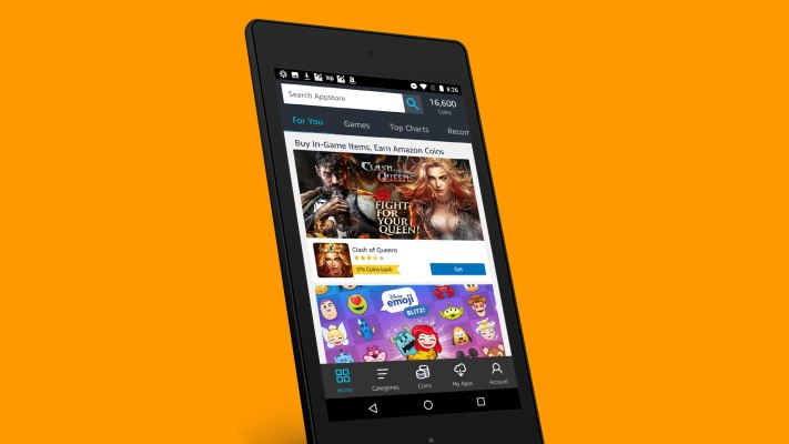 Amazon's Appstore lowers its cut of developer revenue for small businesses, adds AWS credits