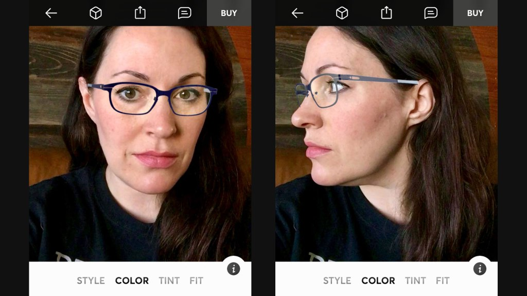 5a03e9bfd Topology lets you try before you buy glasses using AR in an app | TechCrunch