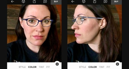 Topology lets you try before you buy glasses using AR in an