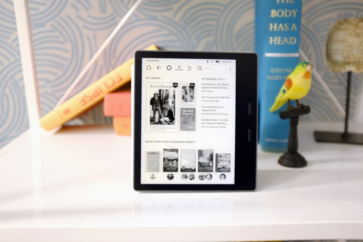 8c2d023da7e Amazon s new Kindle Oasis is the best e-reader (a lot of) money can ...
