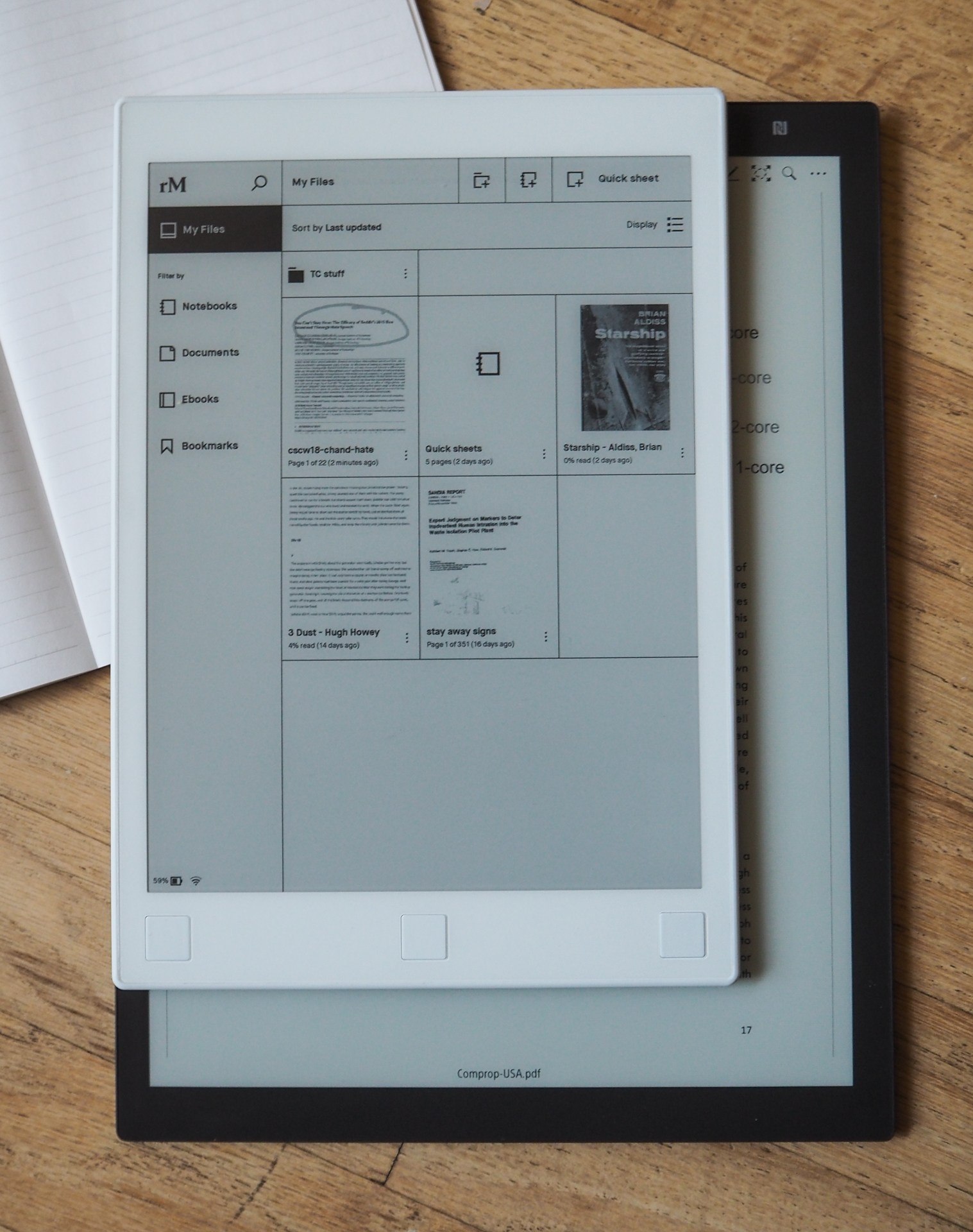 Sony and reMarkable's dueling e-paper tablets are strange