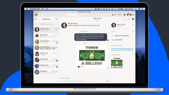 Facebook quietly launches Mac and PC Workplace Chat apps