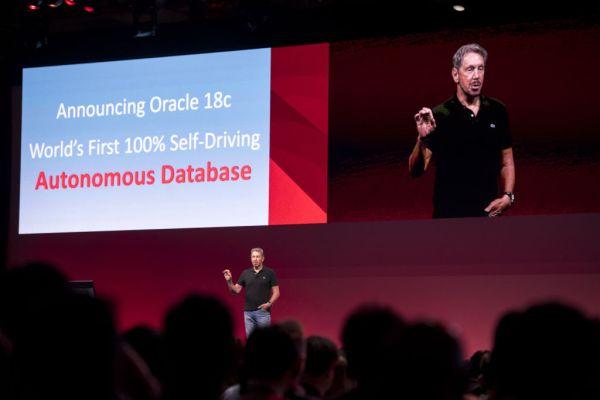 Oracle launches autonomous database for online transaction processing