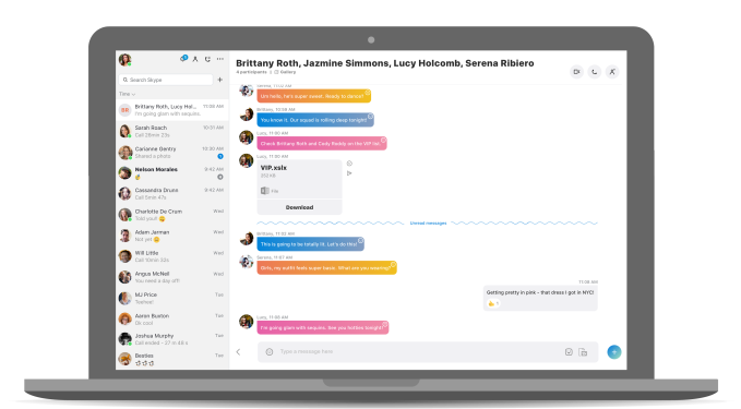 However The New Desktop Version Of Skype Does Include Many Of The Other Changes Introduced In The Redesign Including Its Overall More Colorful And