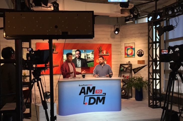 BuzzFeed says its morning news show 'AM to DM' is reaching