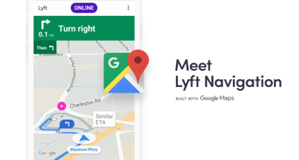 Lyft adds in-app navigation for drivers via Google Maps ... Go To Google Maps on google chrome, google goggles, go to mail, google search, go to settings, go to internet, go to ebay, yahoo! maps, google earth, go to amazon, google docs, web mapping, google translate, go to home, go to netflix, google moon, google street view, go to facebook, satellite map images with missing or unclear data, google latitude, bing maps, route planning software, google mars, google sky, google voice, go to email, google map maker,