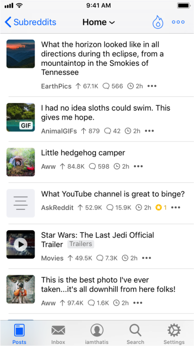 Apollo for iOS is the only Reddit app you need | TechCrunch
