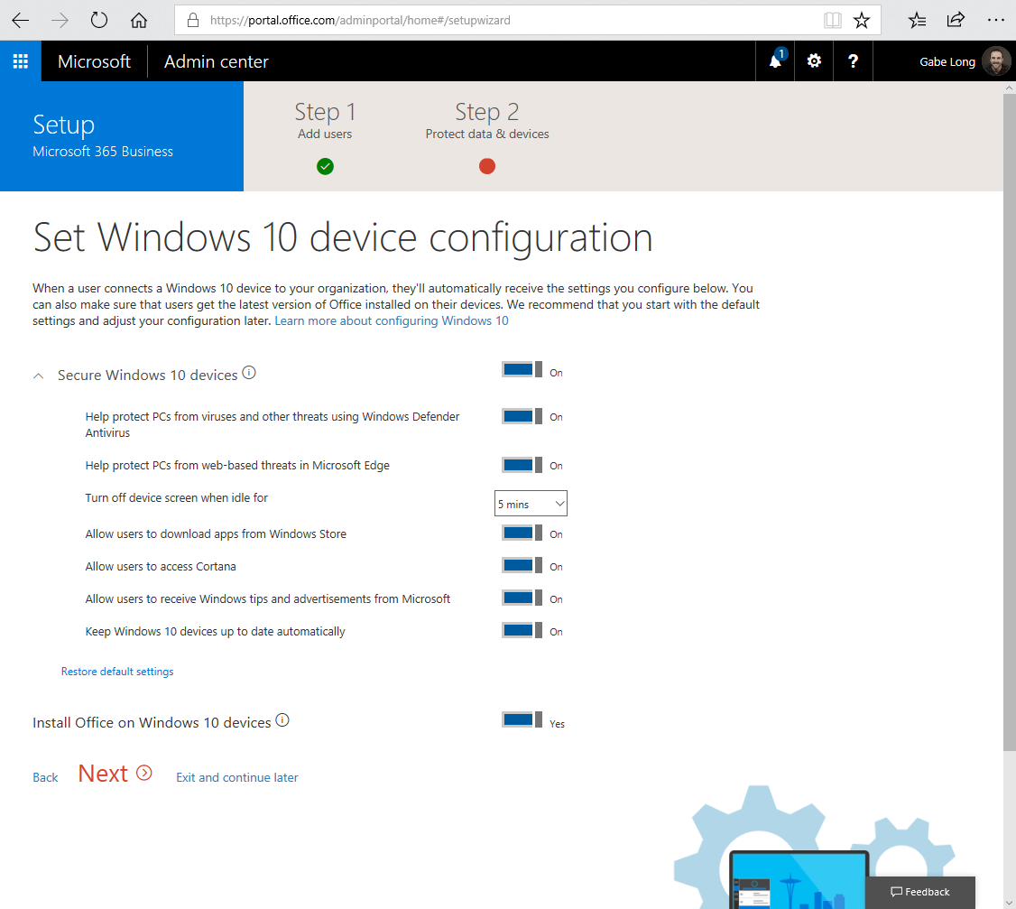 Microsoft 365 for small and medium businesses is now