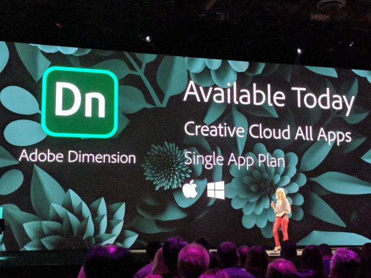 Adobe launches Dimension CC, its 3D compositing tool