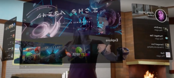 Oculus 'Dash' replaces your computer monitor with VR | TechCrunch
