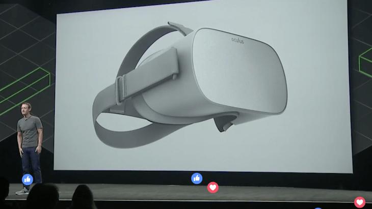 Facebook announces $199 'Oculus Go' standalone VR headset | TechCrunch