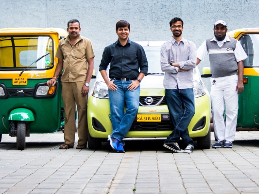 Uber's Indian rival Ola is aiming for an IPO in 3-4 years ola