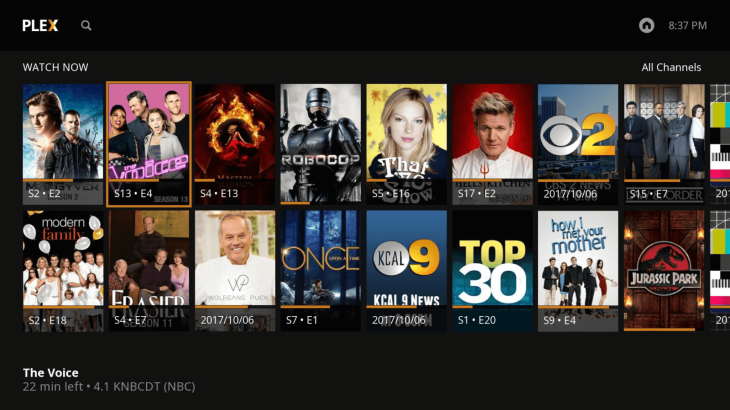 Plex launches its live TV service on Roku, with limited DVR