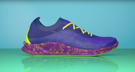 newest 7d5ac bfc6e ... tech sneaker heads, between self-lacing Nikes and Adidas  experiments  with 3D printed midsoles and biodegradable yarn. Asics isn t generally  uttered.